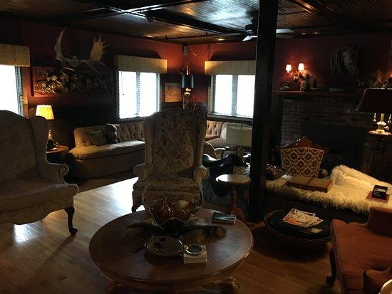 Montgomery Center, VT: Lounge area