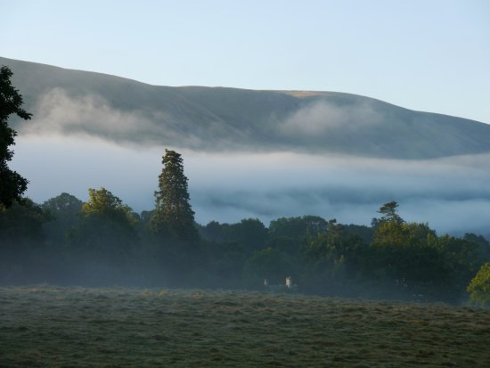 Watermillock, UK: View from the bedroom early morning