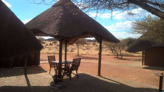 Kimberley, South Africa: Lapa overlooking the park