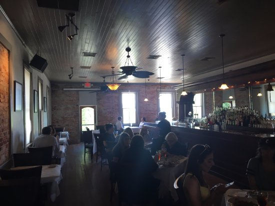 Apalachicola, FL: One of the dining rooms.