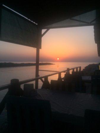 Beykoz, Turkey: Riva da gün batımı