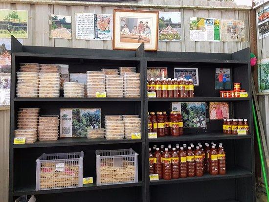 Balik Pulau, Malasia: Nutmeg products