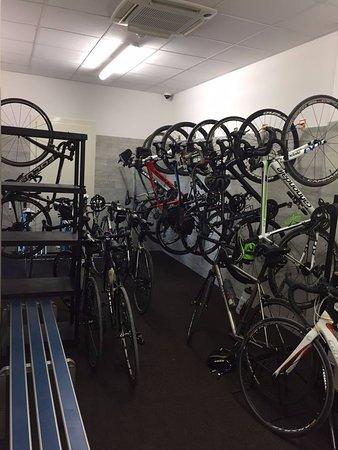 Castrocaro Terme e Terra del Sole, Italia: Bike room