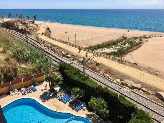Hotel Rocatel : Wir, zwei Pärchen, haben unseren Aufenthalt (3Nächte) sehr genossen. Unbezahlbarer Meerblick vom