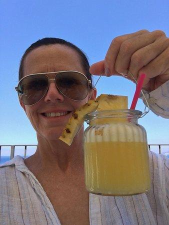 Hotel Relais Maresca : The BEST pina coladas EVER!