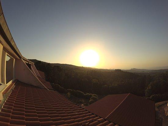 Arcidosso, Italy: la vista dalla nostra camera era uno spettacolo ogni giorno