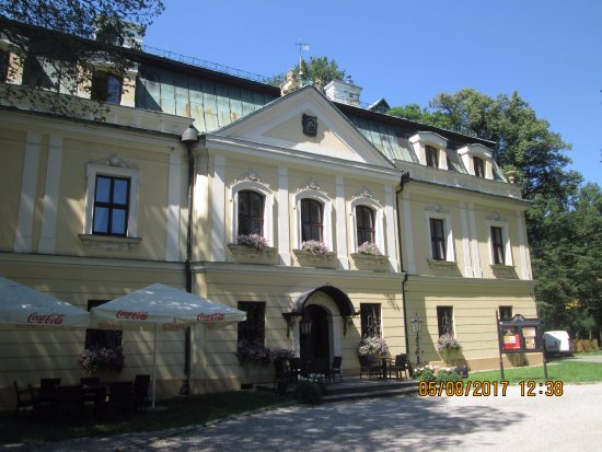 Palace in Rybna in Tarnowskie Gory
