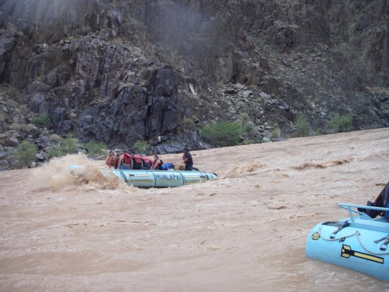 Hualapai River Runners: Entering Rapids