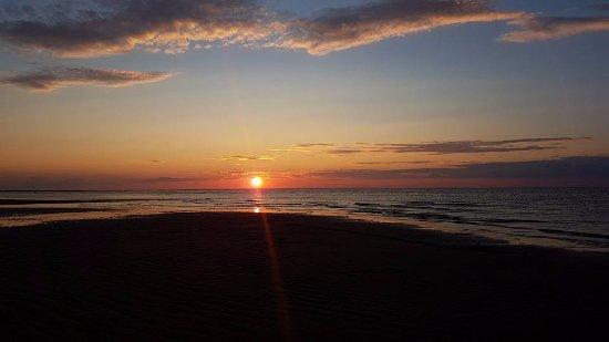 Cap-Pele, Canada: Coucher de soleil !!!!!
