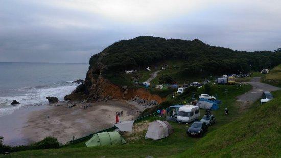 Pechon, Spanyol: Vistas del camping