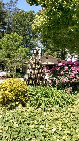Hendersonville, NC: Burn't Shirt Bottle Tree