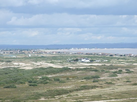 Dungeness, UK: View to the coast