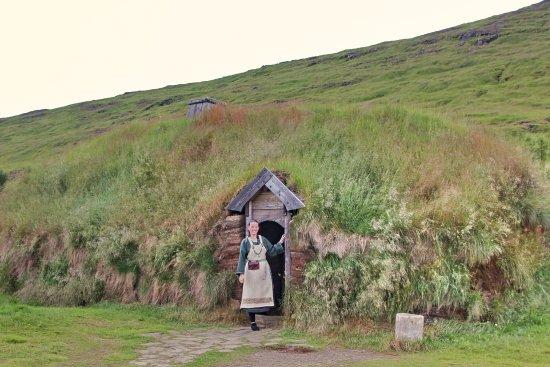 Budardalur, Islandia: Viking Long House