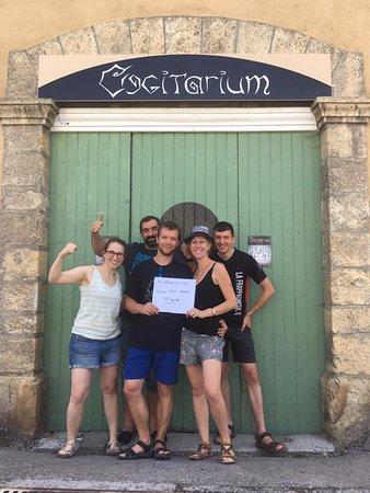Crots, Francia: Nos joueurs!