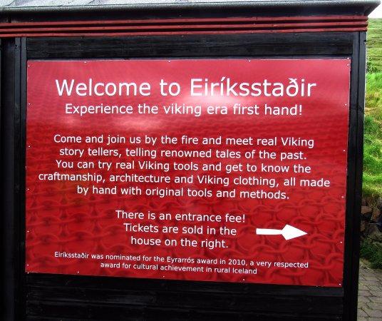 Budardalur, Islandia: Entrance Area