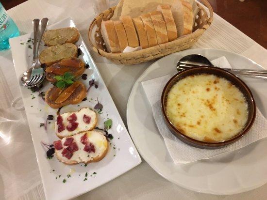 Antipasti del menu picture of trattoria lo romani da for Antipasti romani