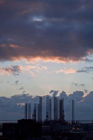 Scandic Olympic: Udsnit af udsigt fra øverste etage