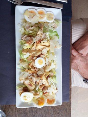 Cassago Brianza, Italia: insalata di pollo