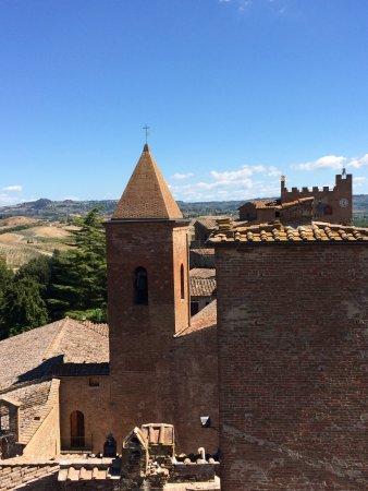 Casa di Boccaccio : Vista dalla Torre Casa Boccaccia