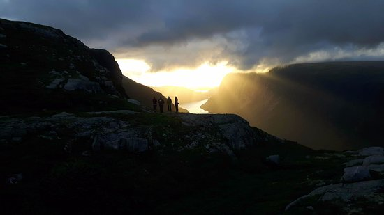 Norris Point, Kanada: The sunsets!  10 Mile Pond, Long Range Traverse, Gros Morne National Park