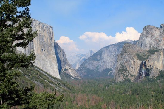 Evergreen Haus: The Big Three at Yosemite, El Capitan, Half Dome and Bridal Veil Falls