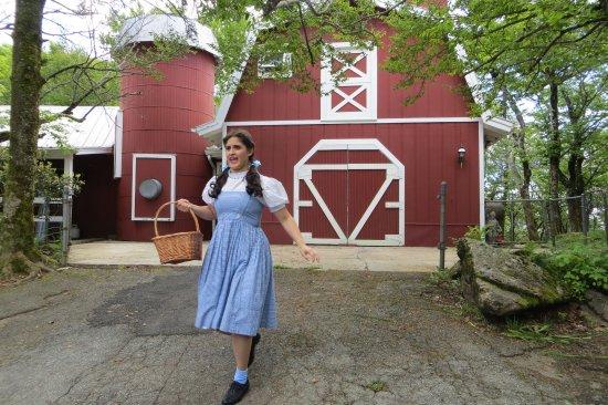 Beech Mountain, Carolina del Norte: Looking for Auntie Em