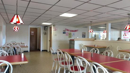 Bloomsburg, PA: Inside dinning room
