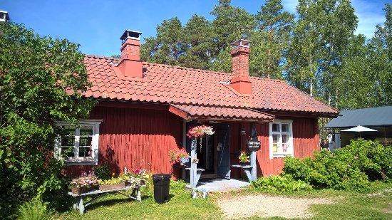 Parainen, Finlandia: Suloinen kahvilarakennus