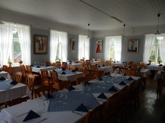 Billnas, Finland: Dining room
