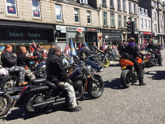 CitiHouse Aberdeen West End: Air Force Day Parade on Union Street Aberdeen