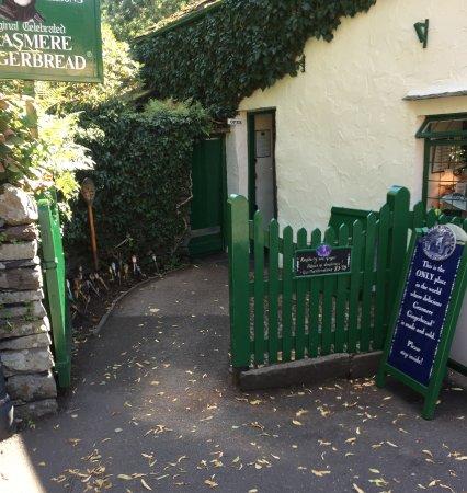 Grasmere, UK: A rare sight - no queue!