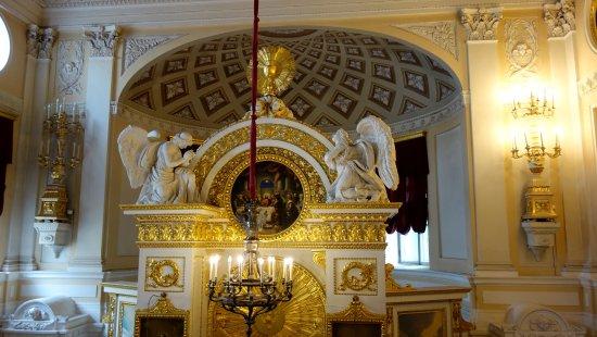 Palais et parc de Pavlovsk : Chiesa del palazzo