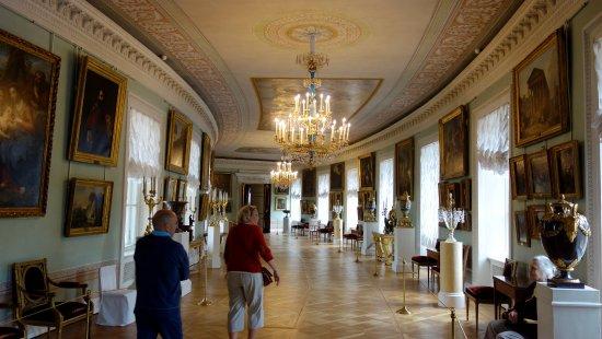 Palais et parc de Pavlovsk : La galleria d'arte