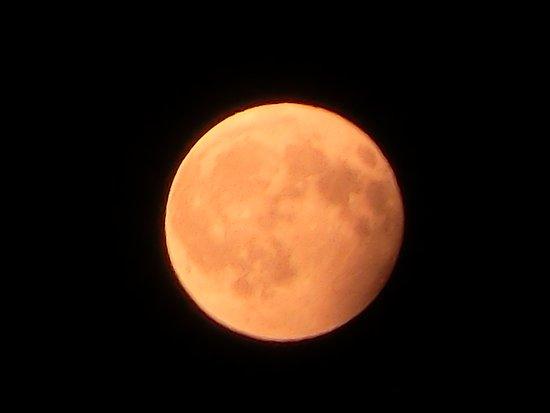 Palaia, Italia: luna all'uscita