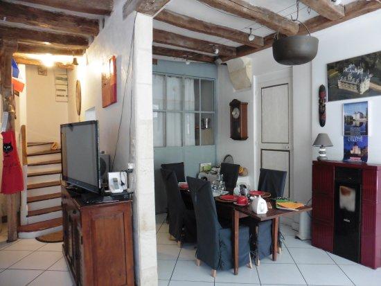 Chez Charitha : Zona colazione