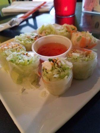 Mesilla, นิวเม็กซิโก: Shrimp Spring Rolls