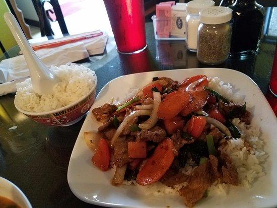 Месилья, Нью-Мексико: Stir Fry Beef Delight
