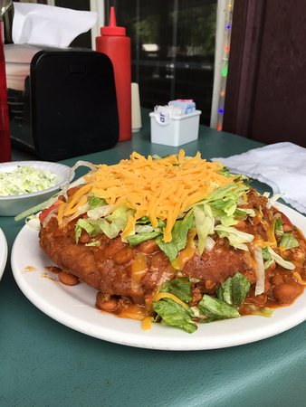 "Paul's Family Restaurant : ""Indian Taco"""