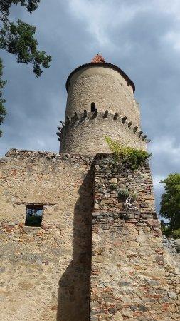 Böhmen, Tschechien: část hradu Zvíkov