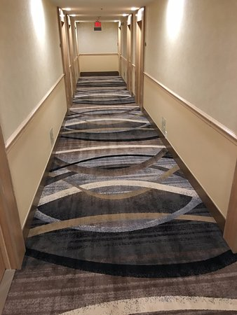 Doubletree by Hilton Torrance - South Bay: Newly renovated hallway