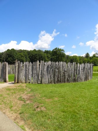 Addison, PA: Fort Necessity is about a 20 minute drive from Hartzell House.