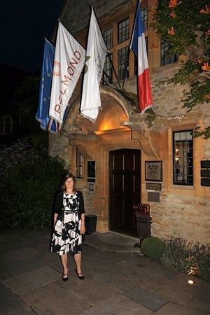 Belmond Le Manoir aux Quat'Saisons : Leaving Le Manoir after a fabulous meal