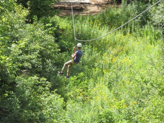 Jordan, MN: Crossing the Creek.