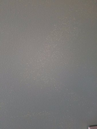 Pentwater, MI: Accent wall needs two coats of paint. The entire wall looked like this.
