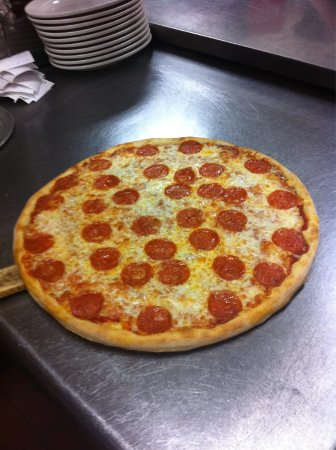 Allen, TX: hand tossed NY style pizza