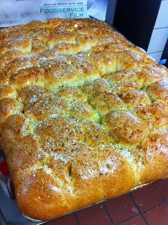 Allen, TX: homemade garlic rolls