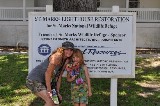 St. Marks Lighthouse: Restoration Information