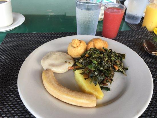 El Greco Resort: Jamaican breakfast