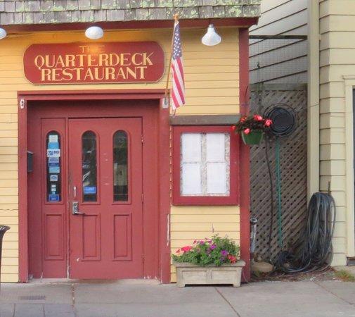Quarterdeck Restaurant: Here We A!re