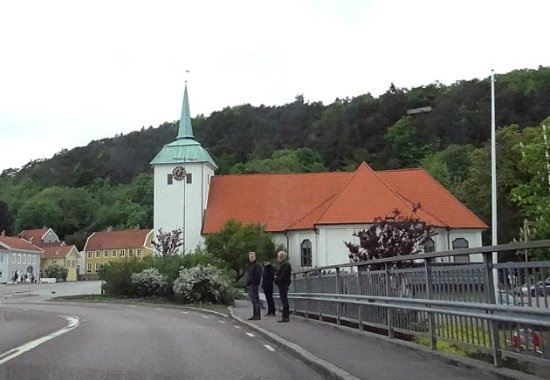 Kungalv, Sweden: the church
